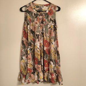 Jodifl Floral Tunic Dress